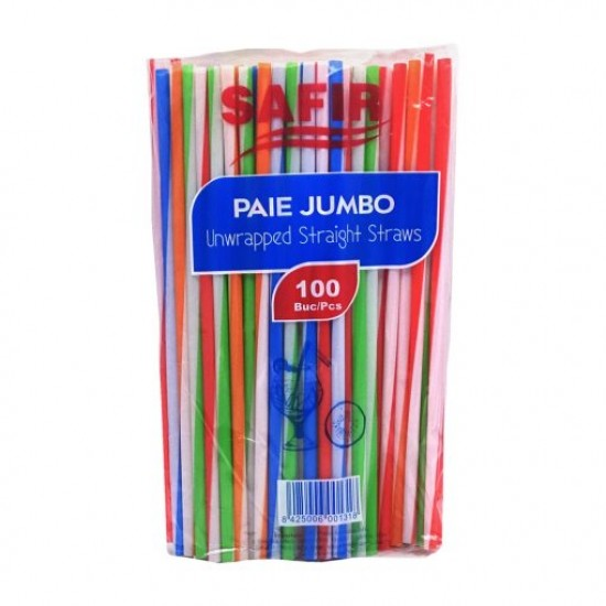 Paie Color Jumbo 230 * 7 mm