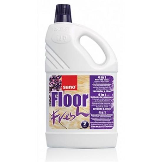 Detergent pardoseli Manual Sano Floor Fresh Liliac 1L