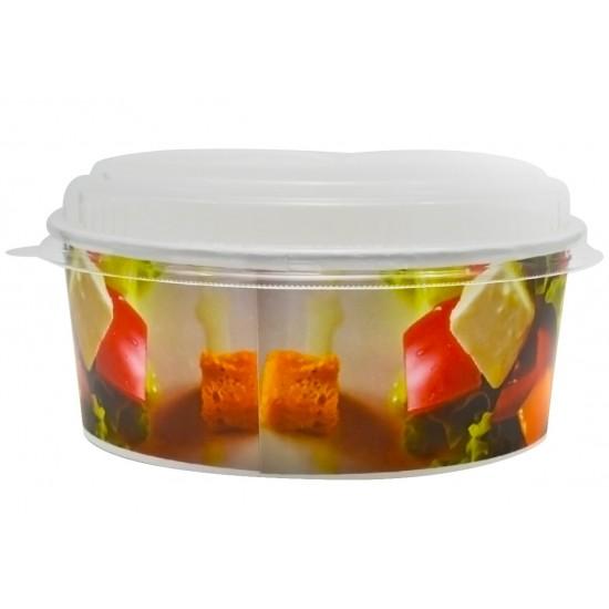 Capac pentru castron salata FRESH, 50 buc/set
