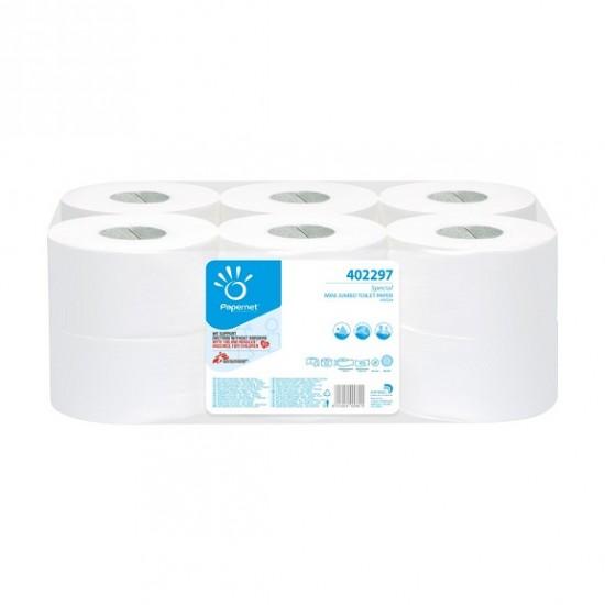 Hartie igienica Mini Jumbo 2 straturi 140m, Papernet