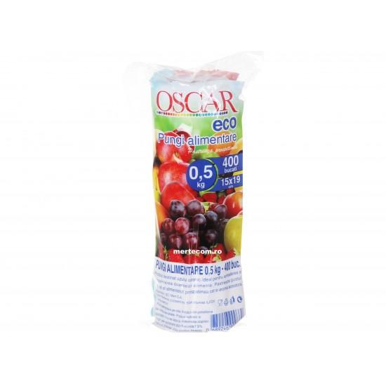 Pungi alimentare ECO Oscar, 400buc/rola, 0.5kg
